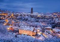 來瑞士看雪夜