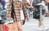 街拍成都:六款優雅好看的秋季穿搭示範,總有一款適合你的!