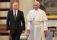 """1天能辦多少事?看普京""""閃電""""訪問意大利和梵蒂岡"""