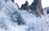 美到爆!只有極少人能看到的冬季美景,河北最高峰的霧凇冰瀑冰河