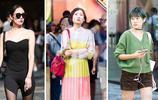 街拍:看時尚美女如何施展穿衣搭配技巧