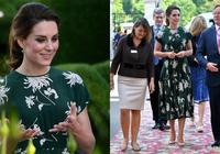 凱特王妃再創完售秒殺奇蹟!清新賞花穿搭展現迷人女神氣質