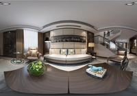 19.8萬打造南昌中大青山湖東園280平現代風,三層複式樓一出品就驚豔了整個小區