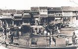 繁華的秦淮河老照片