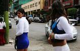 鏡頭下:蒂華納站街女的現狀,衣著暴露,大白天當街攬客拉生意