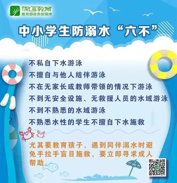 預警丨暑假是溺水高發期,一起來學習防溺水知識