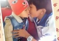 易烊千璽有多喜歡小孩子?這幾張照片告訴你,嘴巴一直親個沒完!
