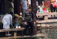 70秒丨母子落水掙扎呼救 濟寧小夥縱身躍入五龍潭
