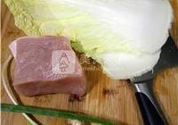 白菜豬肉鍋貼的做法 白菜豬肉鍋貼