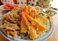 美食的分享:日式油炸食品天婦羅