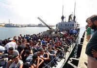 利比亞攔截 500非法船民