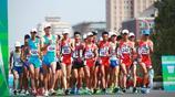 第十三屆全運會田徑男子20公里競走 王凱華獲得冠軍