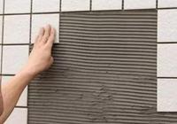 貼瓷磚時,用瓷磚背膠好還是瓷磚膠好?為什麼?