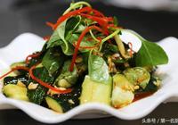 大廚分享涼拌黃瓜簡單好吃做法,學會這一招,你也能做出飯店味道