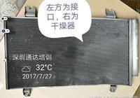 """空調的""""乾燥過濾器""""裝在哪裡?"""