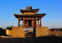 山丹峽口古城