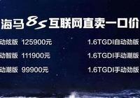海馬8S上市7.99萬元起 海馬寄希望於新車型翻身