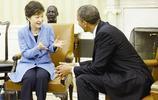 """朴槿惠""""大媽式""""的微笑和手勢曾經征服了安倍,迷倒了奧巴馬"""