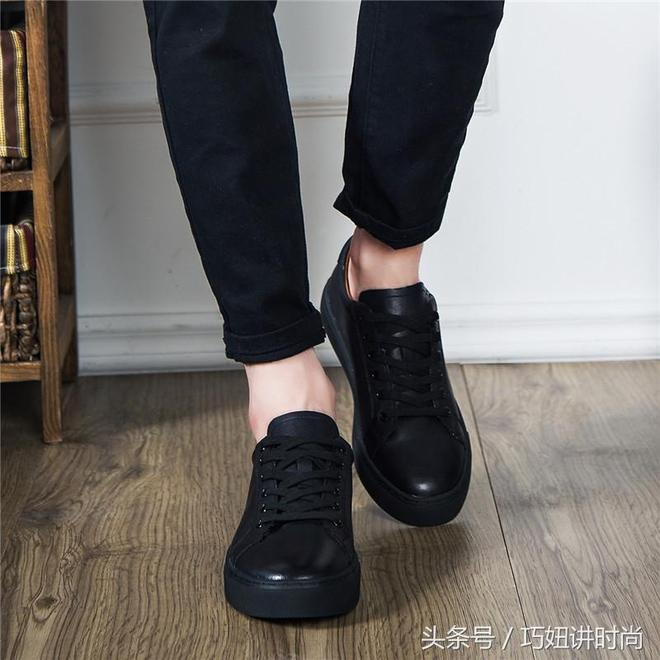 30多了穿帆布鞋顯得太幼稚,商務休閒男鞋照樣帥氣,更顯男人味
