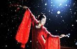 七位當紅女星紅衣古裝照,趙麗穎楊冪都比不過她