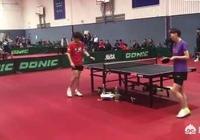 國乒世乒賽訓練大戰,劉國樑場邊督戰施壓,王曼昱兩勝男選手引圍觀,如何評價?