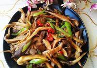素炒平菇的做法