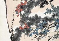 漫談潘天壽花鳥畫的佈置