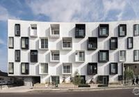 隨影而動起建築:LOHA多元化公寓樓