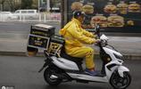 北京的快餐快遞員