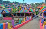印尼一村子被塗成五顏六色,如傳說中的童話鎮
