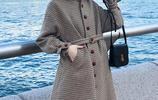 最新發現!這就是冬天最美格子大衣,小個子穿,配上高跟鞋顯腿長