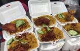 泰國的油炸食品,咋這麼便宜?不到14元買了三塊炸雞外加糯米飯!