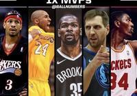 NBA歷史最強1MVP五人陣容該如何搭配?美聯給出兩套方案你覺得合理嗎?