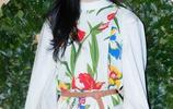 宣美出席Tory Burch品牌活動,把裙子穿出了自己風格