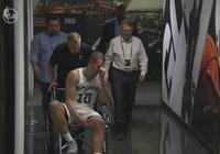 大衛-李被診斷為左膝髕腱部分撕裂
