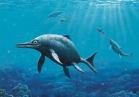 巨型爬行動物曾統治古海洋