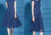 """找到一種矜貴""""A字""""裙,款款洋氣顯嫩,五月穿,高貴又時髦"""