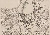 120張白描繡像人物圖集
