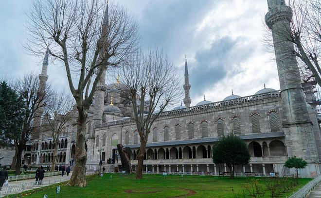 冬季的土耳其也很藍