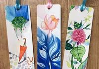 豆瓣日記: 畫書籤,貓與花