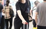惠若琪現身機場 192身高完美詮釋大長腿霸屏