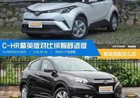 售價相差才1萬,豐田C-HR和本田繽智舒適版究竟該怎麼選?
