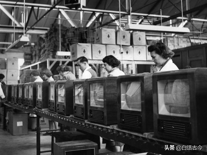 電視機誕生不過百年,是怎麼風靡全世界的?圖說電視機發展史!