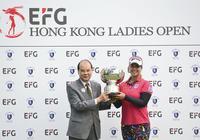 盈豐香港女子高爾夫球公開賽 素帕瑪奪女子中巡第二冠黎佳韻第七