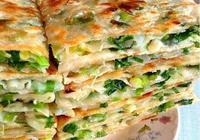 做蔥花餅時,不用發麵,只需簡單3步,層層分離,味道鮮美!