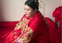最近這個300斤的新娘火了,一個頂倆,網友:我可不敢娶