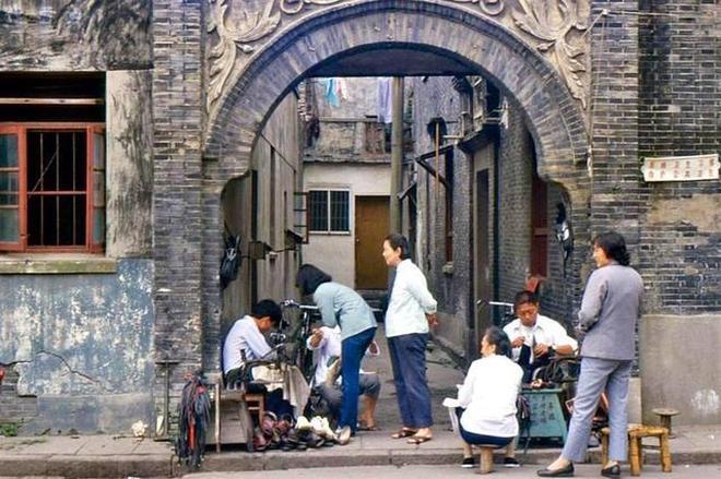 老照片:1986年的蘇州城,圖5勾起童年的回憶!