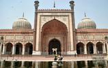 我在旅遊 印度德里賈瑪清真寺旅行遊記 吸引著數很多遊客前來朝聖