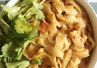 素炒刀削麵