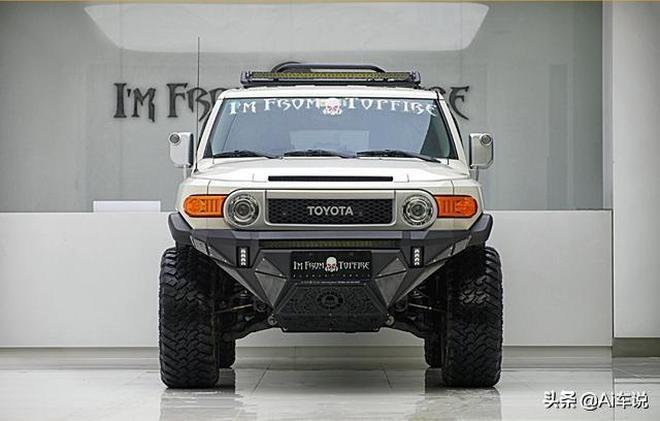 豐田FJ酷路澤究極體進階,將實用價值做到極致